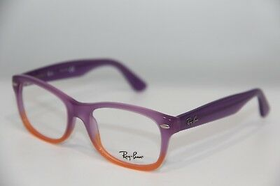 6f70274361 New Ray-Ban Jr Rb 1528 3596 Purple Eyeglasses Authentic Frame Rx Rb1528 48-