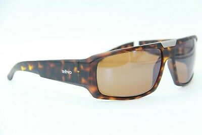 d52e8e4cdb7 New Revo Rbv 1004 02 Apollo Havana Authentic Sunglasses W case 63-15 !