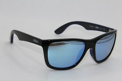 e2cb4b8071 New Revo Re 1001 01 Otis Black Polarized Authentic Sunglasses W case 57-17