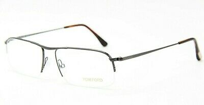 0adc0cf6224b Brand New Tom Ford Tf 5211 012 Gunmetal Eyeglasses Authentic Rx Tf5211 55-17  !