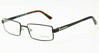 639e7ea617d Brand New Tom Ford Tf 5166 001 Black Brown Eyeglasses Authentic Rx Tf5166 54 -18