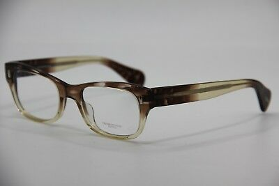 New Oliver Peoples Ov 5174 1470 Wacks Brown Eyeglasses Authentic W/case 49-19