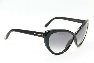 7ba8f24862343 Tom Ford Tf 253 01B Madison Black Gradient Authentic Sunglasses 63-10 W Case
