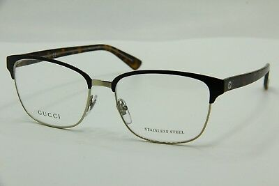 5bee9740740c New Gucci Gg 4272 2Cs Brown Eyeglasses Eye-Wear Rx Authentic Gg4272 54-16