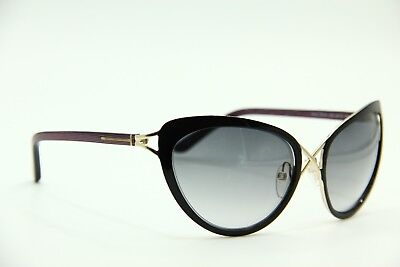 bb8d2bc1d8 TOM FORD Daria Tf 321 32B Blak Gold Authentic Sunglasses 59-18-130 W ...
