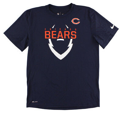 Discount NIKE MENS CHICAGO Bears Icon T Shirt Marine M $31.99 | PicClick  free shipping