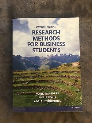 Research Methods for Business Students by Mark N. K. Saunders, Philip Lewis,...