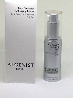 NEW ALGENIST PORE CORRECTOR ANTI-AGING PRIMER 1oz/30ml W/ALGURONIC ACID BOX