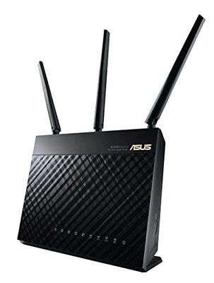 ASUS RT-AC68U AC1900 Dual-Band Gigabit Wireless Router, AI MESH,Access Point Mo