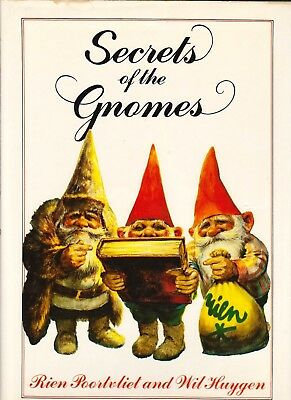 Secrets Of The Gnomes By Rien Poortvliet & Wil Huygen (1982 1st Aus. Hardcover)