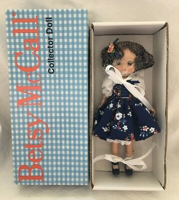 "2008 MIB Betsy McCall 8"" Doll PICKING POSEYS Effanbee Brunette Tonner"
