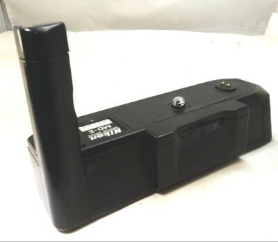 Nikon MD-E Motor Drive Battery Pack EM cameras - tested works good Free Shipping