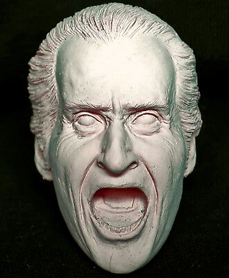 1/6 scale plastic unpainted action figure head sculpt dracula star ace