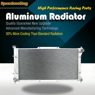 1839 Aluminum Radiator For Subaru Legacy 2.2 2.5 H4 1995-1999 2Row EJ22