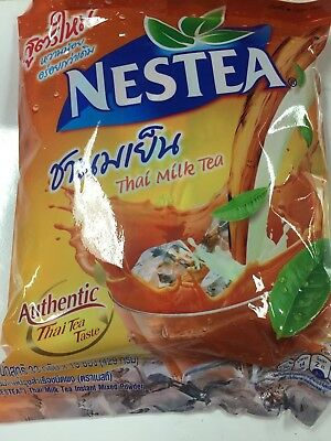 "Nestea Instant Thai Milk Tea Mix Powder 13 Sachets / Sticks ""AUSSIE STOCK"""