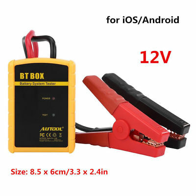 BT BOX ABS Car Diagnostic Battery System Tester Charge Analyzer for iOS/Android