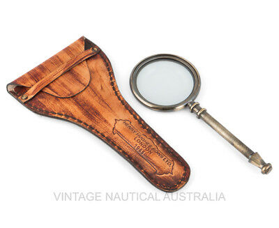 Magnifying Glass - Henry Hughes- VINTAGE NAUTICAL AUSTRALIA