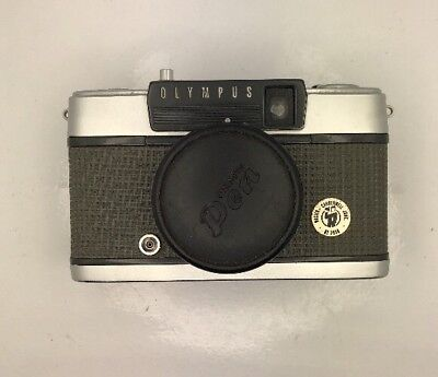 Olympus Pen-EE Camera and Case #34973