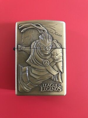Flip Top League Of Legends LOL Pocket Vintage Windproof Lighter Oil Kerosene