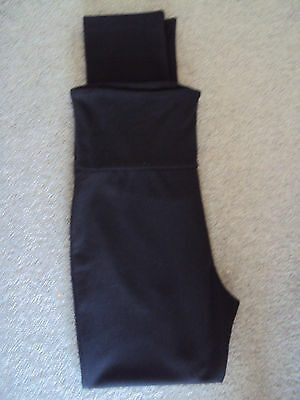 NEW black leggings pants maternity tag size 12 (m l) FREE POSTAGE for 5 ITEMS