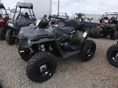 Polaris Sportsman 570 X2  (Save $1000) + Free Bull Bar & Side Rail Kit