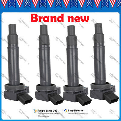 4pcs Ignition Coil 90919-02249 For Lexus GS430 LX470 Toyota Tundra 4Runner 4.7L