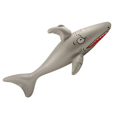 Inflatable SHARK Holiday Beach Swimming Pool Kid Toy Water Summer Fun Party 90cm