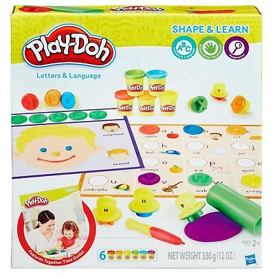New Hasbro Play-Doh Shape & Learn Letters And Language B3407