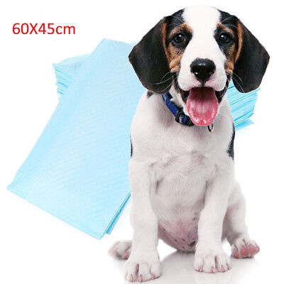 60 x 45cm Pet Dog Puppy Extra Large Training Pads Pad Wee Wee Floor Toilet Mats