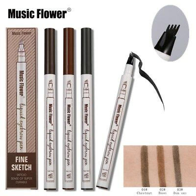 3 Color Patented Microblading Tattoo Eyebrow Ink Pen Neu