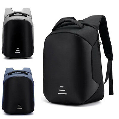 Anti-theft Men/Womens Laptop Notebook Backpack+USB Charging Business School Bag