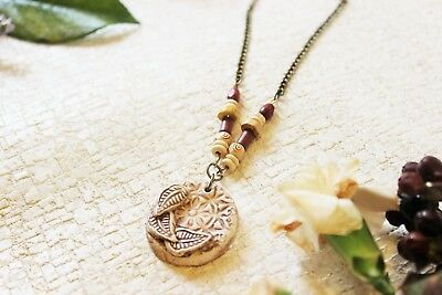 Rustic Necklace, Bohemian Jewellery, Boho Style, Ancient Jewelry, Gift