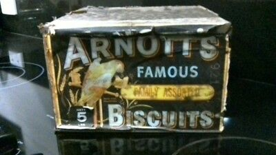 arnotts collectable famous family assorted 5lb tin with lid