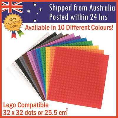 Building Base Plate Multicolour Blocks Board Compatible Baseplate 32x32 Studs