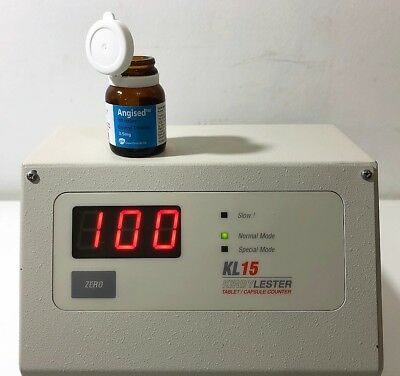 Kirby Lester KL 15 TABLET / CAPSULE COUNTER, Ship World Wide