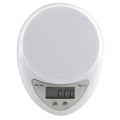 New 5kg/1g  Digital Electronic Kitchen Food Diet Scale Weight Balance