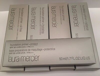Laura Mercier Foundation Primers Full Size (Hydrating, Radiance, Oil Free)