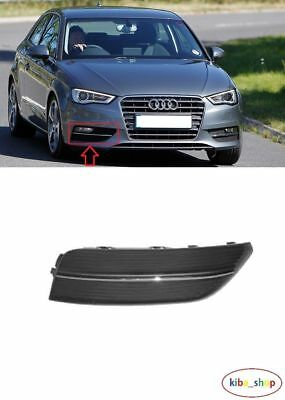 Audi A3 2012 - 2016 New Front Bumper Fog Light Lamp Cover Grille Right O/S