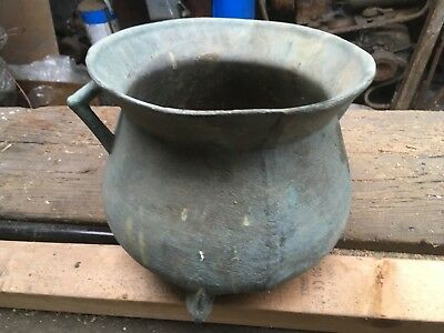 Antique bronze cauldron - possibly 17th century montacue or similar