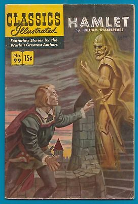 Classics Illustrated Comic Book 1965 Hamlet by Shakespeare # 99   #233