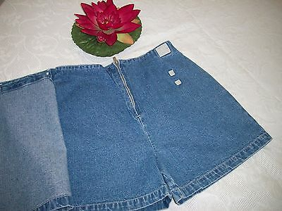 Faded Glory Shorts Hose kurz Jeans blau Rock Gr. 152 TOP WN Sommer Strand 7ee583ef9b