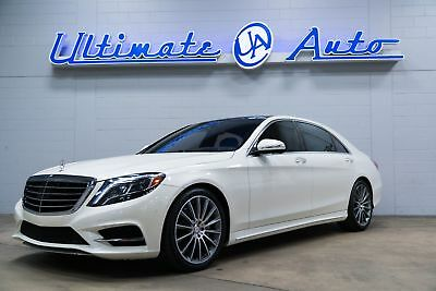 """Mercedes-Benz S 550  AMG Sport Package w/20"""" Wheels. Driver Assistance Package. Head Up Display."""