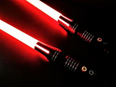 Custom All Metal L9 RGB LED Lightsaber with 11 DIFFERENT COLORS AND SOUNDS!!!!!!