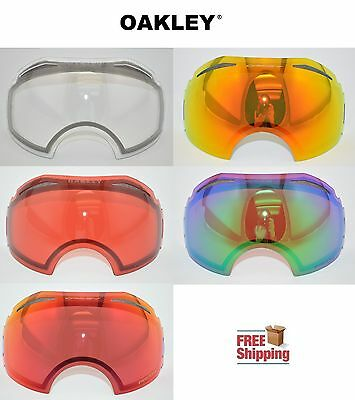 7435b15cea1 Oakley® Brand Airbrake™ Snow Goggle Replacement Lens Choose -Color Mirror  Prizm