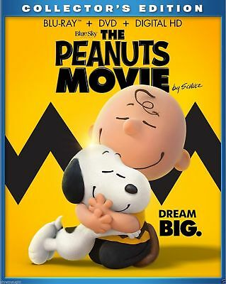 The Peanuts Movie: Collector's Edition ( Blu-ray + DVD + Digital HD ) Brand New
