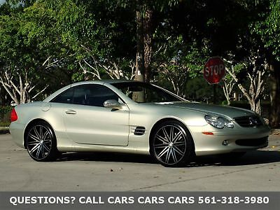 "Mercedes-Benz SL500 SL500 1 OF 1500 MADE-ONLY 47K MILES FLORIDA IMMACULATE-DESIGNO EDITION-ONLY 47K MILES-BOSE-NAV-20"" WHEELS-NONE NICER"