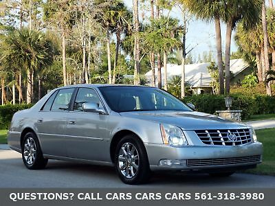 Cadillac DTS ONLY 75K MILES-LIKE 06 07 09 10 FLORIDA CLEAN-HEATED/AC SEATS-CHROME WHEELS-NEW MICHELINS-SIRIUS-BOSE-NONE NICER