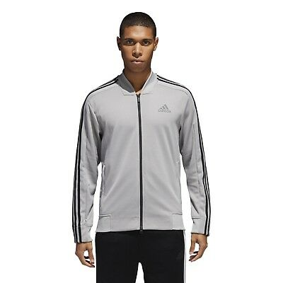 927930fae12f NEW CV3253 MEN S Adidas Athletics Squad Id Track Jacket !! Black ...