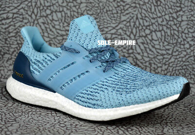 half off ab3d7 dabab Adidas Ultraboost Womens S82055 Ice Blue White Running Shoes NEW IN BOX SALE