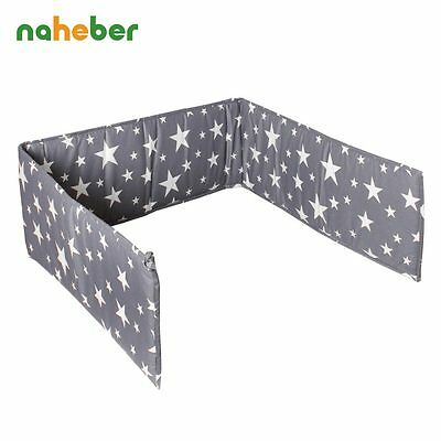 Crib Bumpers For Newborn Cotton Linen Cot Bumper Baby Bed Protector
